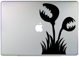 Venus Flytrap Laptop Decal